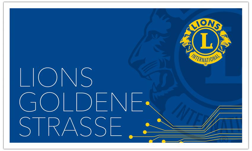 LIONS CLUB WEIDEN - Goldene Straße